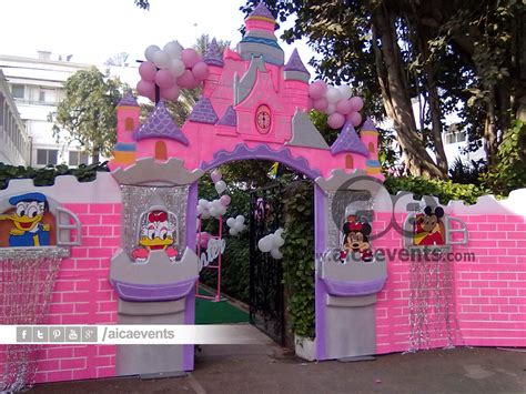 Aicaevents Castle And Princess Theme Decorations