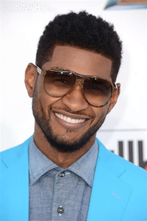 usher hair short hairstyle haircuts haircut hairstyles mohawk music cuts mens france billboard awards arrivals boys curly fade raymond african