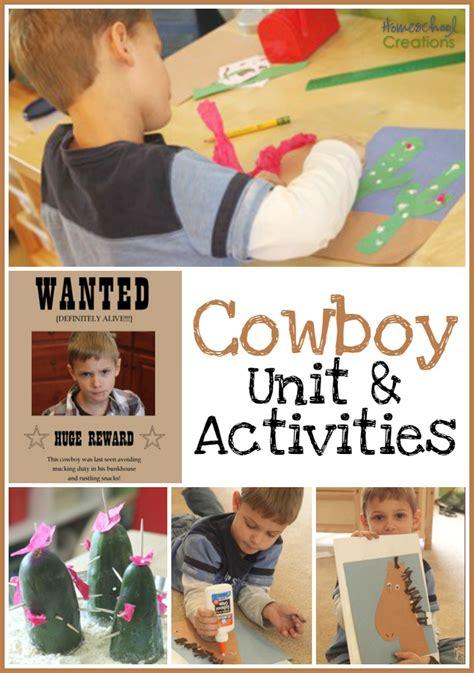 cowboy unit preschool corner