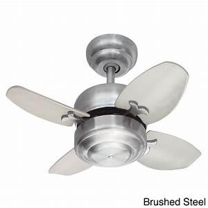 Anderson 22 In  Led Indoor  Outdoor Brushed Nickel Ceiling