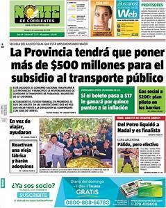 Peri U00f3dico Norte Corrientes  Argentina   Peri U00f3dicos De Argentina  Edici U00f3n De S U00e1bado  8 De