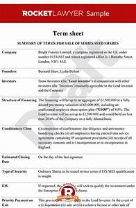 sheet term sheet template term sheets With acquisition term sheet template
