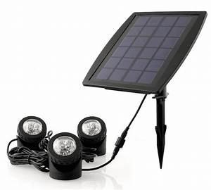 Spot Solaire Extérieur : spots solaires puissants submersibles 160 lumens ip68 rgb ~ Melissatoandfro.com Idées de Décoration
