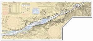 Cape Nautical Chart Columbia River Vancouver To Bonneville Nautical Chart