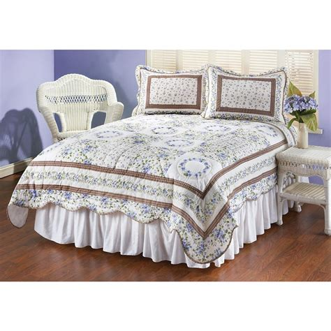 Quilt And Sham Set by Violet Quilt And Sham Set 148664 Quilts At