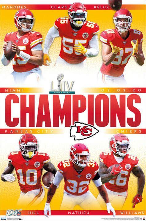 Kansas City Chiefs Super Bowl Liv Champions 2020 Official