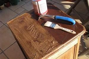 Comment Laquer Un Meuble : restaurer un meuble en bois une tape la fois sophie ~ Dailycaller-alerts.com Idées de Décoration