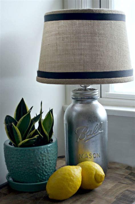 diy mason jar lamp allfreeholidaycraftscom