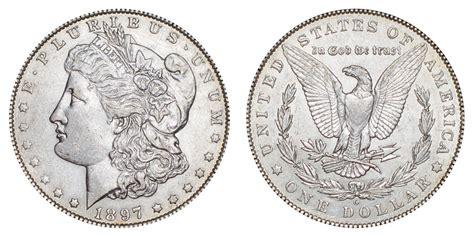 1897 O Morgan Silver Dollars