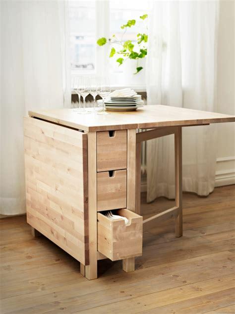 modele de table de cuisine en bois designs créatifs de table pliante de cuisine archzine fr