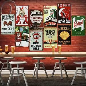 Aliexpress, Com, Buy, Vintage, Metal, Signs, Plume, Motor, Oil, Castrol, Retro, Metal, Poster, Tin, Signs