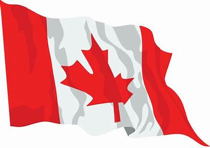 Flag Canada Waving Icon Svg Canadian Flags