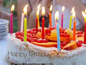 Happy Birthday Cake Pictures With Candle | Jerzy Decoration