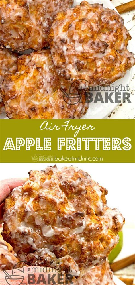 fryer air apple fritters recipe recipes midnight baker easy less ninja fritter foodie grill oven cooking bakeatmidnite donuts chicken potatoes