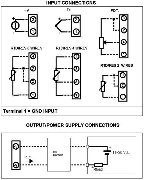 pt100 transmitter wiring diagram diagrams online