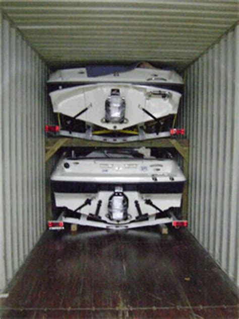 Boat In A Shipping Container by Worldwide Import Export 20 40 Ft Containers
