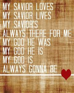 Jesus Is My Savior Song Lyrics