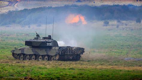 Challenger 2 firing live rounds | Strategic Bureau of ...