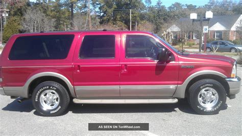 ford excursion limited sport utility  door
