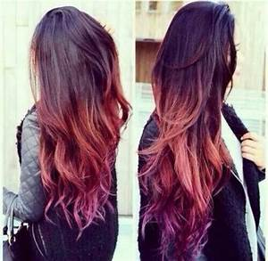 brown to blonde ombre and light purple - Google Search ...