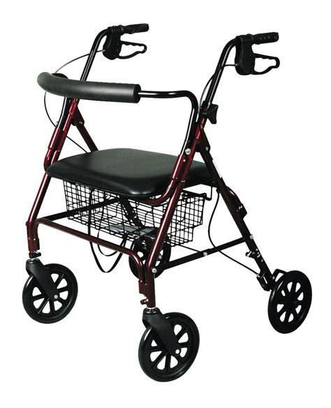Bariatric Rollator Transport Chair by Standard Bariatric Heavy Duty Rollator Careway Wellness