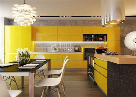 cuisine jaune et noir 25 cuisines modernes jaunes id 233 es exemples inspirations