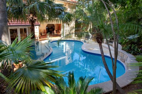 prestigious tropical oasis tranquillity sunset pools sydney