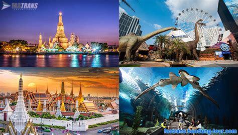 tempat wisata  bangkok thailand info travel