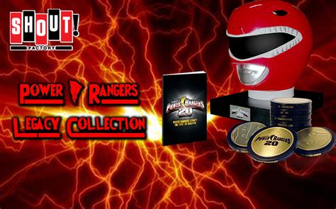 Power Rangers Legacy Collection Dvd Set From Shout Factory