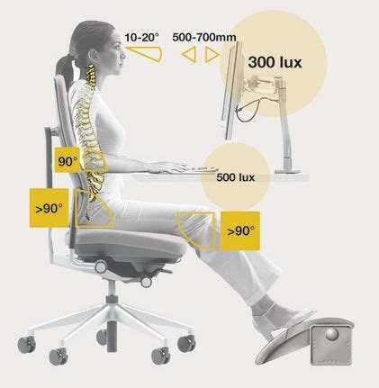 ergonomie bureau 25 best ideas about ergonomie bureau on
