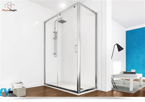 box doccia parete fissa box doccia 75x120 scorrevole trasparente con parete fissa
