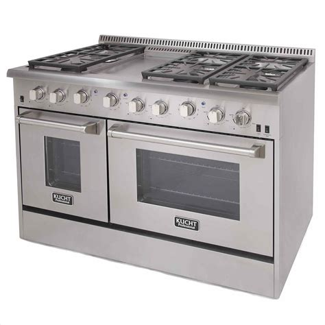 48 Inch Double Oven Gas Range dynamicyogainfo