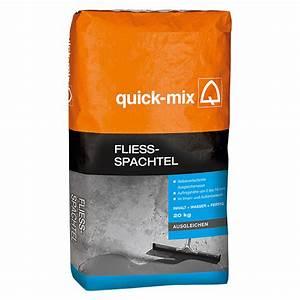 Ausgleichsmasse Quick Mix : quick mix flie spachtel 20 kg schichtdicke 2 10 mm ~ Michelbontemps.com Haus und Dekorationen