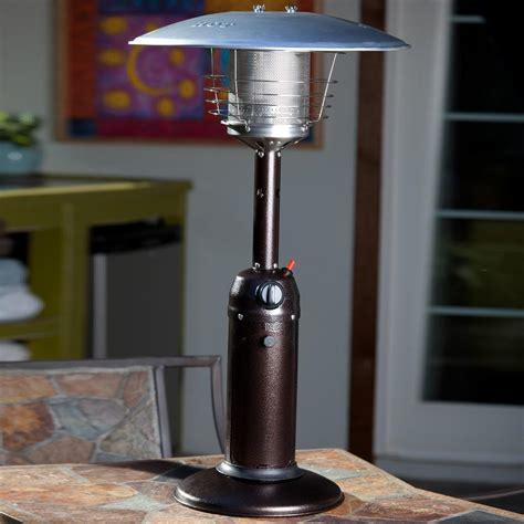 patio sets 10000 sense 10000 btu propane gas tabletop patio heater
