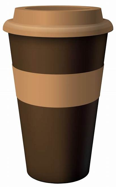 Coffee Cup Clipart Brown Clip Cups Cliparts
