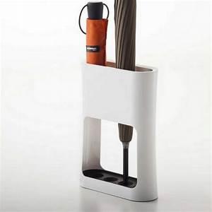 Porte Parapluie Original : porte parapluie blanc design porte parapluie pas cher avec bas de r tention d 39 eau ~ Melissatoandfro.com Idées de Décoration