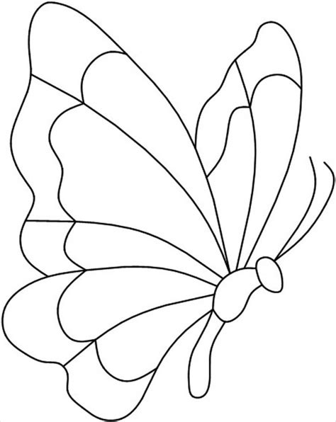 Butterfly Template Free by 30 Butterfly Templates Printable Crafts Colouring