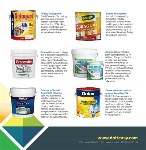 paint brands premium products do it easy services