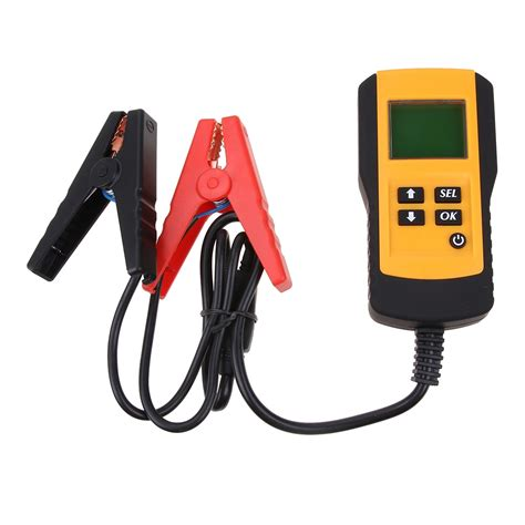 If you're using a digital multimeter, set the dial to. 12V Car Battery Tester Vehicle Car LCD Digital Battery ...