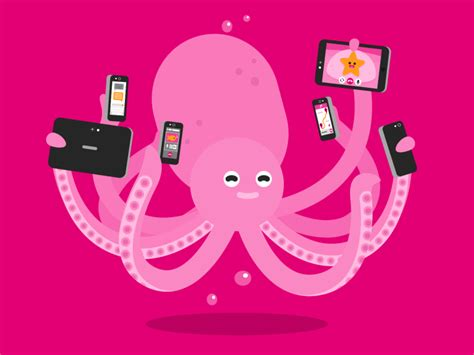 octopus by curran dribbble