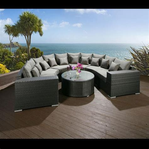 Outdoor Rattan Sofa Suite Sets   rattan garden sofa furniture   Rattan And Wicker Furniture