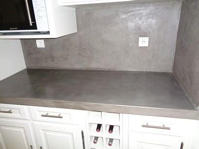 rénovation plan de travail cuisine béton ciré imagorenovation rénovation de cuisine finition béton