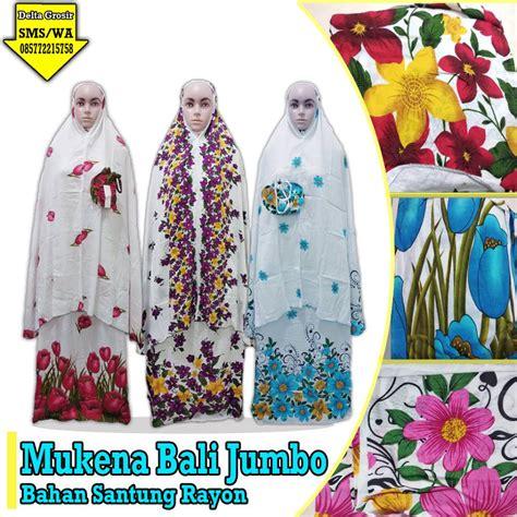 Mukena Bali Jumbo grosir mukena bali jumbo murah 69ribuan kulakan baju