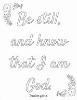 Coloring Printable Words God Wise Still Inspirational Pantry Psalm Sheets Template Sketch Adult Prayer Prudent Bible Verse sketch template