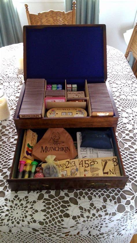 custom munchkin box  blackwind game nerd