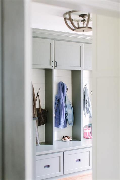 storage for kitchens grey mudroom features gray mudroom cabinets adorned with 2553