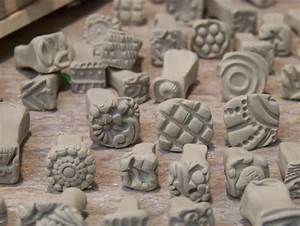 bisque stamps for pottery polymer pmc play doh fondant and With pottery letter stamps