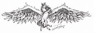 Drawings of Unicorns With Wings images