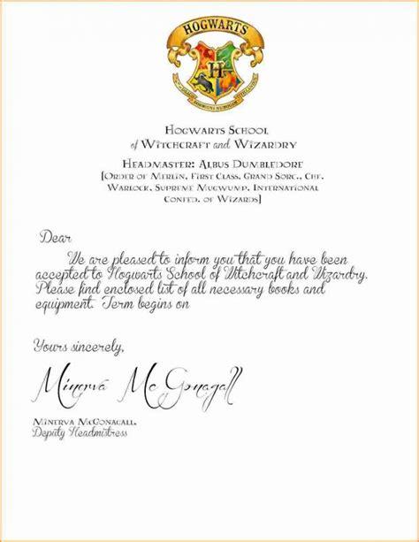 Hogwarts Letter Template Hogwarts Acceptance Letter Template Shatterlion Info