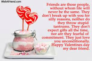 valentines day messages for friends